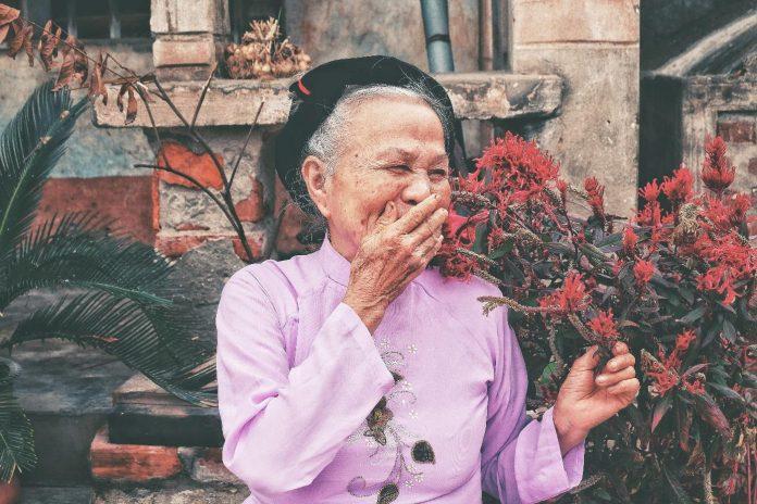 Grandma And Corona